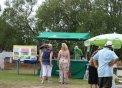 Taula informativa del GOB a la festa del Menorca Cricket Club