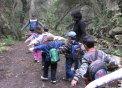 Els fiets d'infantil coneixen s'àvia alzina any rera any