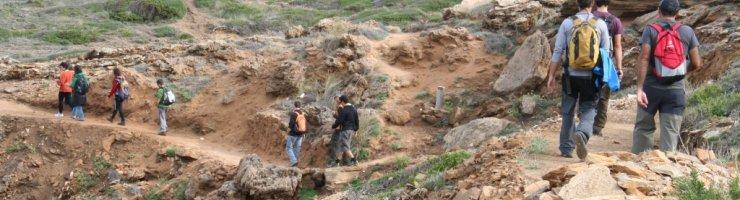Excursió del curs de Formació ambiental per a guies turístics del Camí de Cavalls
