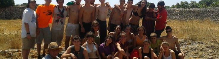 Fotografia de grup a Binibeca Nou