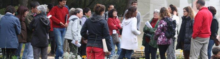 Participants a la primera edició del curset d'horta