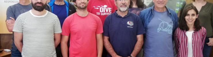 Representants del GOB de les diferents Illes reunita a Menorca