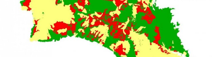 En vermell les zones que es desprotegiran.