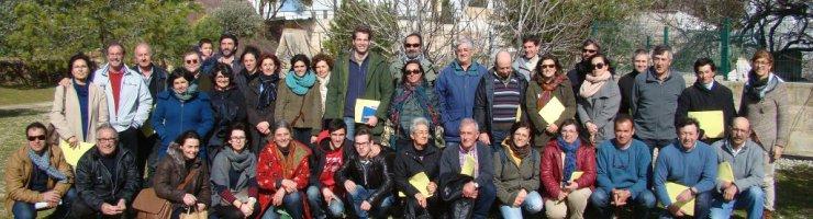 Fotografia dels participants a la segona jornada