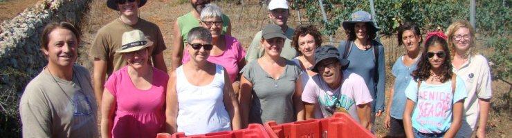 Fotografia del grup de voluntariat