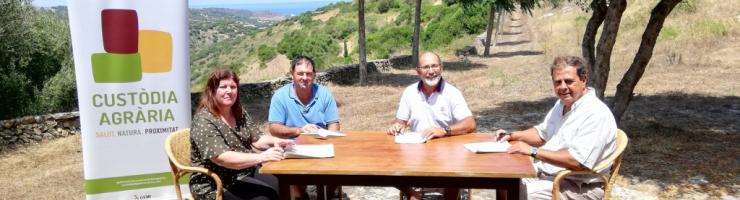 Pagesos i propietat firmen l'acord amb el president del GOB