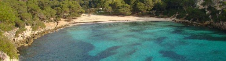 Macarella, platja emblemàtica de Menorca