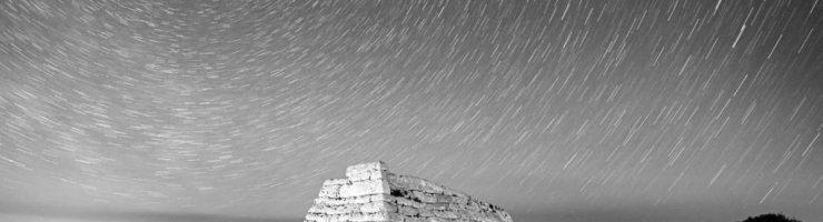 El cel estrellat forma part dels nostres monuments i de la nostra cultura (Fotografia cedida per Antoni Cladera)