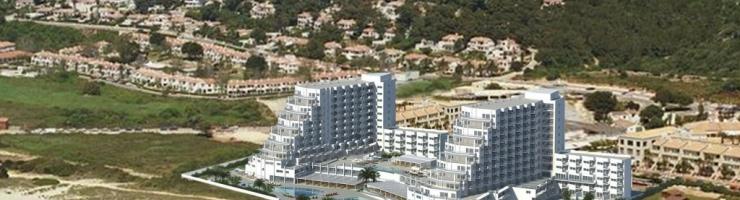 Projecte presentat per Melià per escalonar la part sud dels dos macrohotels