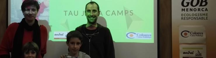 Els premiats: Tau Julià Camps