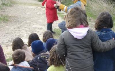 Activitat d'educació ambiental al CRFS