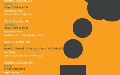 Programa d'actes de la mobilització Menorca Sense Fòssils