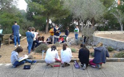 Miram les adaptacions de les plantes de Menorca al Parc Rubió i Tudurí.