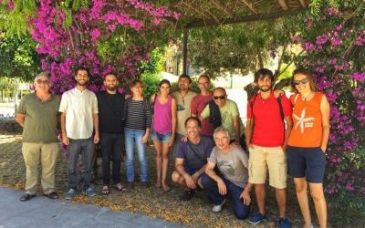 Part dels assistents a la trobada a Eivissa