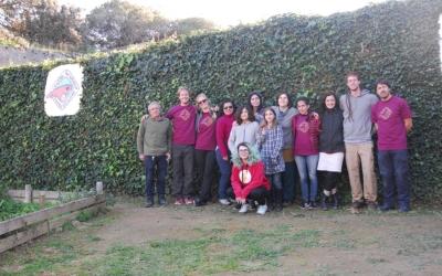 Grup de voluntaris del Centre de Recuperació