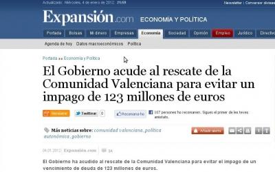 La Comunitat valenciana, sense restriccions urbanístiques, però en fallida econòmica.
