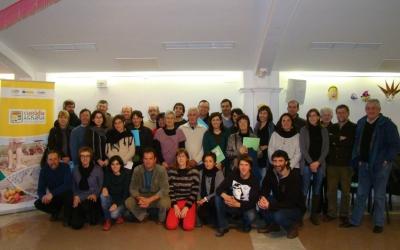 Fotografia dels participants a la tercera jornada de l'any passat
