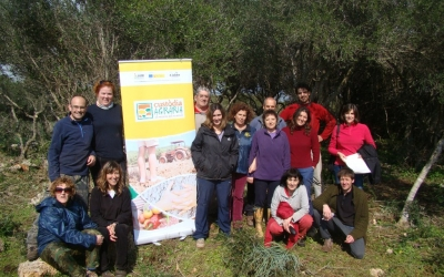 Foto de grup del voluntariat
