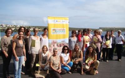 Fotografia de les participants.