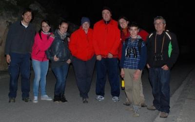 El grup de voluntaris del centre que va realitzar la sortida