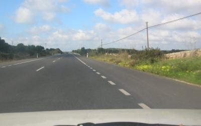 Imatge de voral ampliat, per vehicles molt lents i entrar i sortir d'accessos.