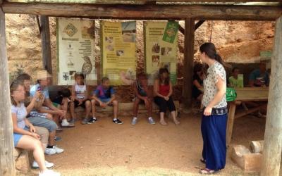 Els al·lots i les al·lotes de REIR visiten el centre