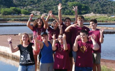 Grup juvenil de voluntaris del Centre de Recuperació de Fauna