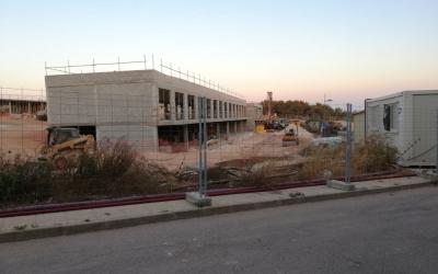 Construcció d'un nou hotel a Biniancollet, Sant Lluís