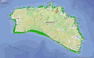 La posidònia que tenim a Menorca: just un estret anell al nostre voltant