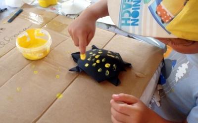 Creant una tortuga d'aigua