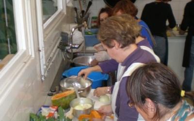 Manipulant el producte ecològic i local i de temporada