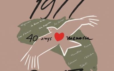 Portada del Socarrell especial 40 anys del GOB Menorca
