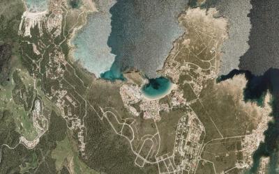 Vials i urbanització prevista per créixer entre Son Parc, Coves Noves, Arenal d'en Castell i Punta Grossa