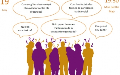 Aquest dijous 19, la nova era dels Moviments Socials a l'Escola de Ciutadania