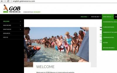 Portada del nou web