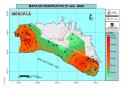 Mapa del contingut de nitrats a l'aigua de Menorca