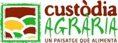 """Logo amb el slogan """"Un paisatge que alimenta"""""""